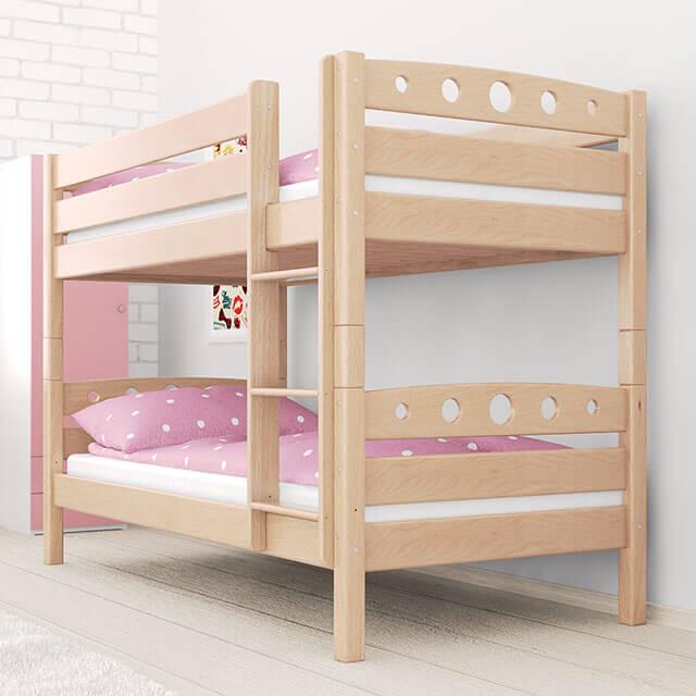 kinderbett buche massiv herlag kinderbett gitterbett. Black Bedroom Furniture Sets. Home Design Ideas