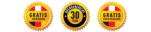 Gratis Versand und Rückversand - 30Tage Rückgaberecht