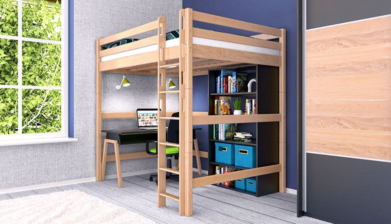delinea robuste und stabile stockbetten etagenbetten hochbetten und jugendbetten f r kinder. Black Bedroom Furniture Sets. Home Design Ideas